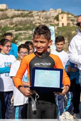 Liam's Swim Comino to Gozo